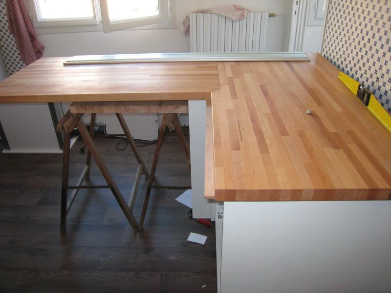 jonction plan de travail en angle lille maison. Black Bedroom Furniture Sets. Home Design Ideas