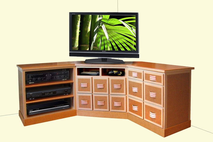 Meuble Dangle Tv Hifi Video Lille Menagefr Maison