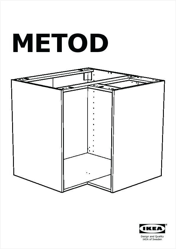 Dimension meuble d'angle bas de cuisine