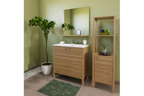 Meuble haut miroir salle de bain conforama lille menage - Miroir salle de bain conforama ...