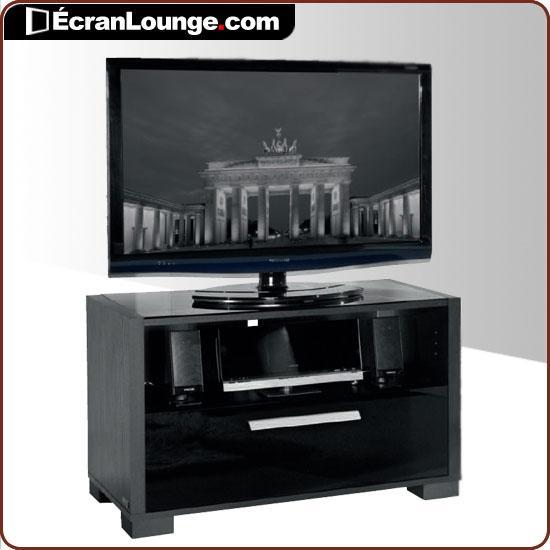 Meuble Tv Haut Noir Lille Menagefr Maison