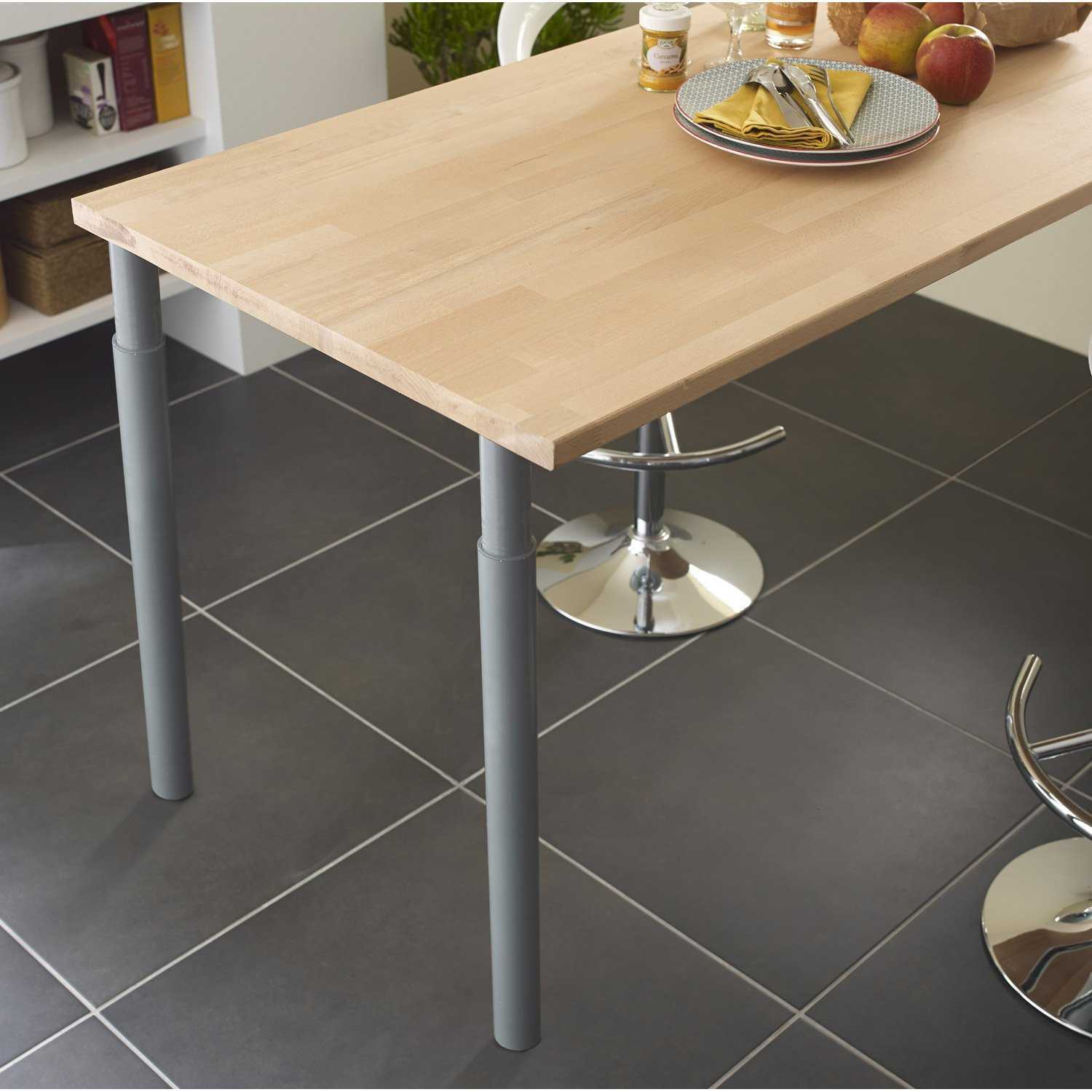 plan de travail amovible pour cuisine lille maison. Black Bedroom Furniture Sets. Home Design Ideas