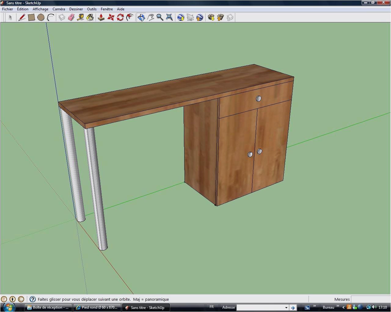 plan de travail avec pied pour cuisine lille. Black Bedroom Furniture Sets. Home Design Ideas