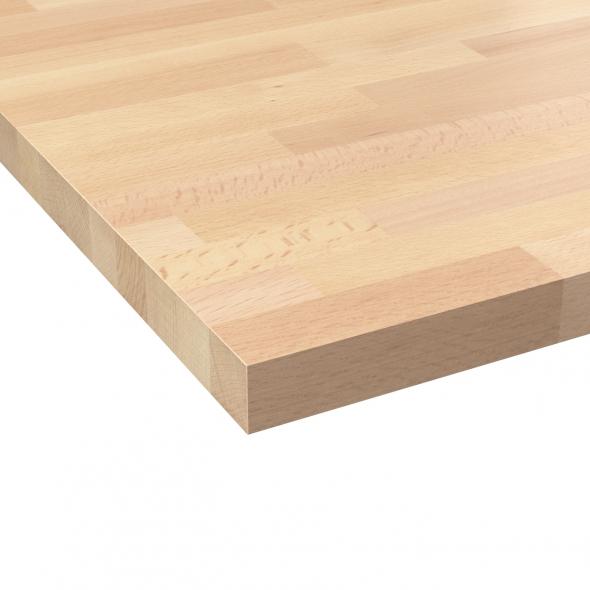 Plan de travail bois massif grande longueur lille menage - Plan de travail cuisine grande longueur ...