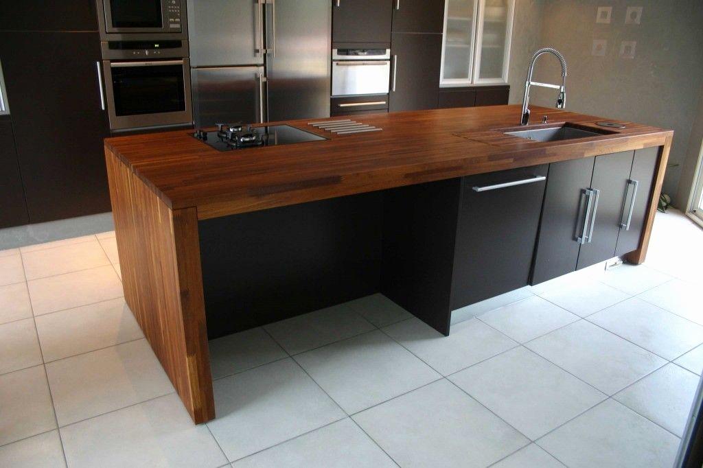 Plan de travail cuisine bois massif ikea - lille-menage.fr maison