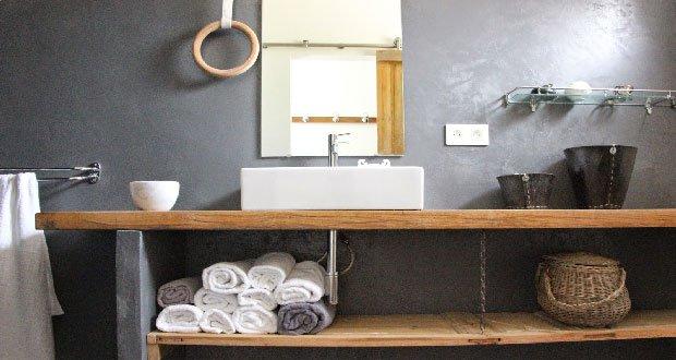 Plan de travail salle de bain epais