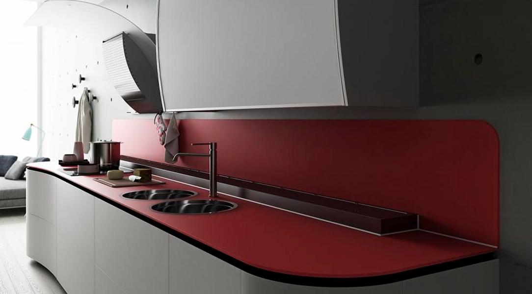 plan de travail noir mat fin lille maison. Black Bedroom Furniture Sets. Home Design Ideas