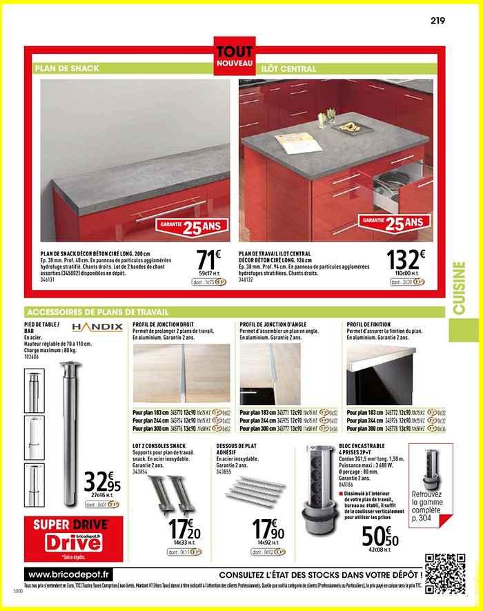 Jonction Plan De Travail Brico Depot Lille Menage Fr Maison