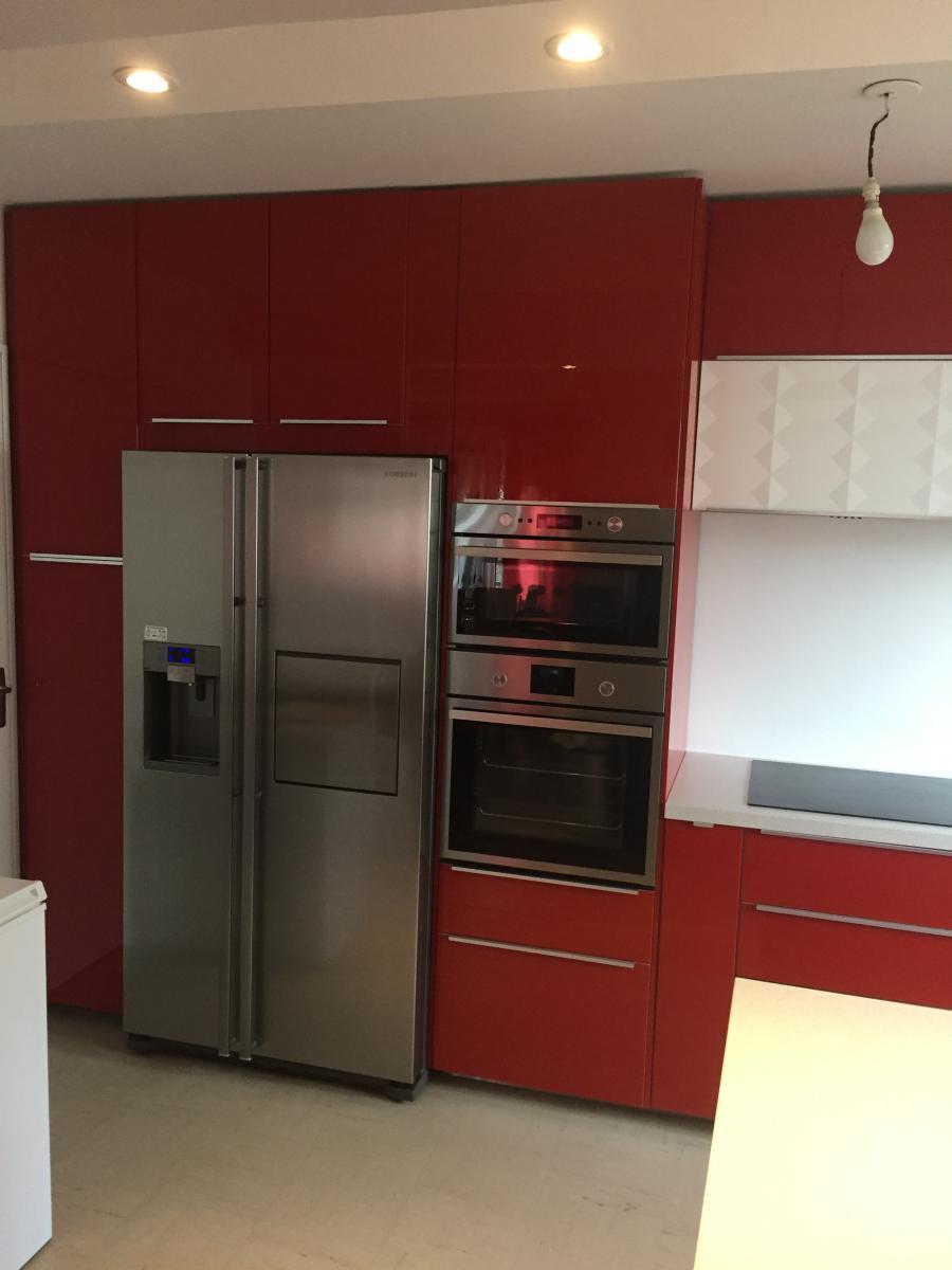 Le célèbre Modele de cuisine avec frigo americain - lille-menage.fr maison @VI_26