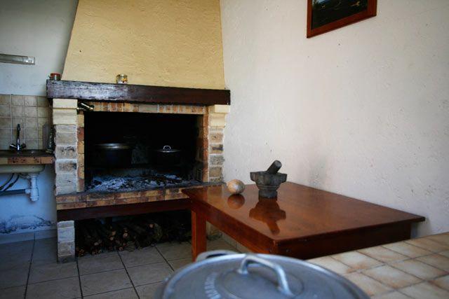 Modele cuisine feu de bois