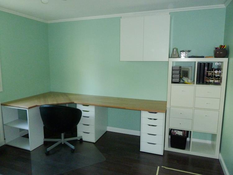 Creer bureau avec plan de travail lille menage maison