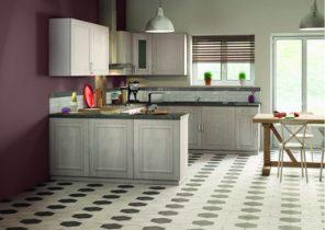 cuisine blanche plan de travail gris ardoise lille maison. Black Bedroom Furniture Sets. Home Design Ideas