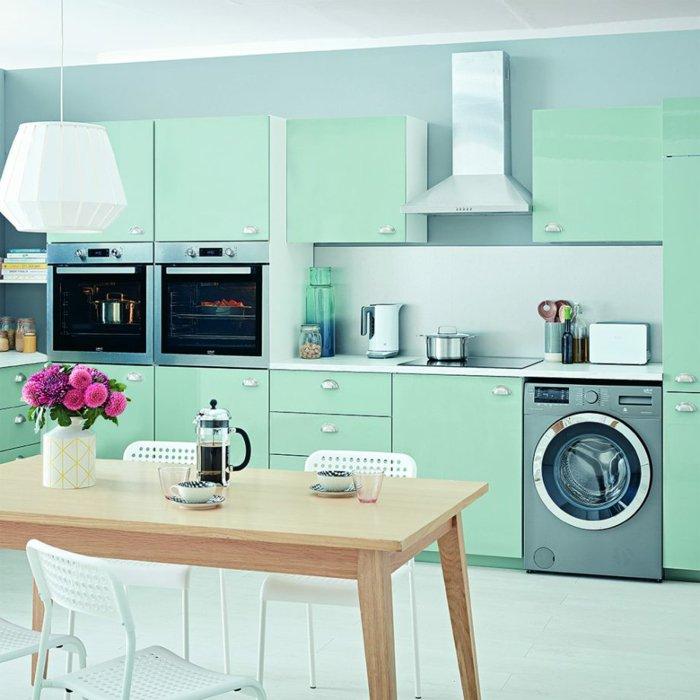 Decoration pour cuisine verte lille maison - Deco mur cuisine moderne ...