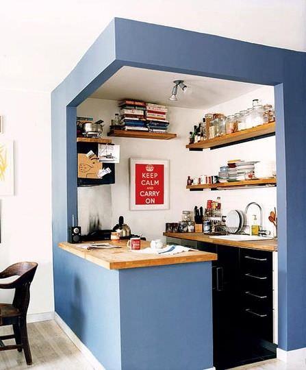 Idee deco petite cuisine ouverte - lille-menage.fr maison