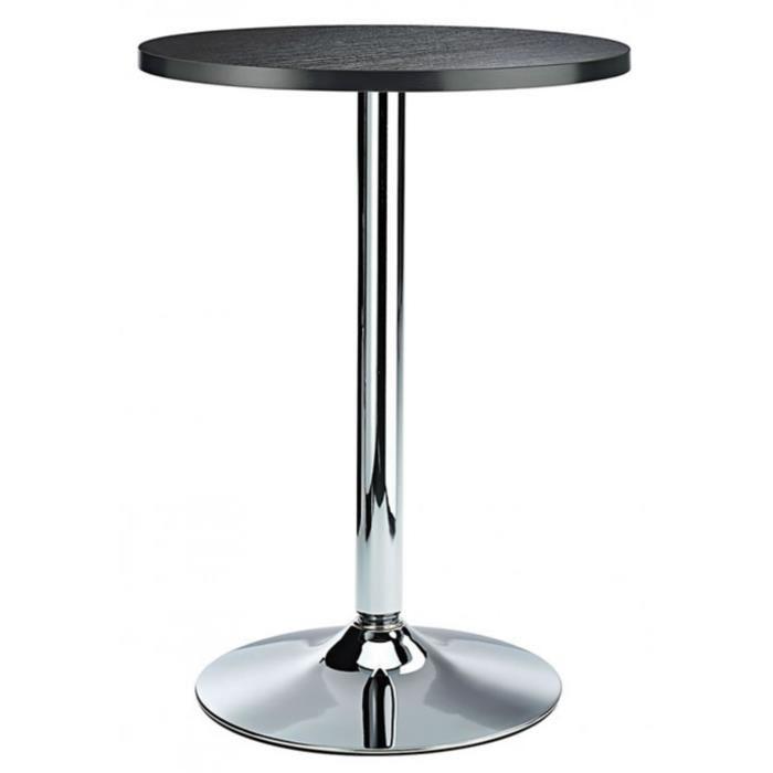 Table de cuisine haute ronde
