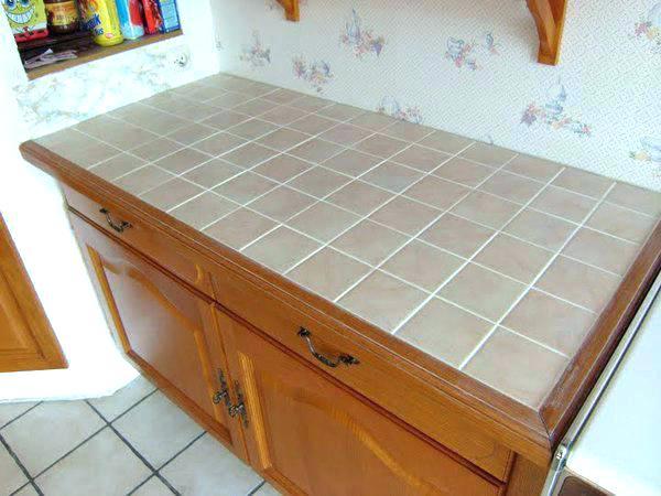 Carrelage plan de travail cuisine sans joint lille - Joint etancheite plan de travail cuisine ...