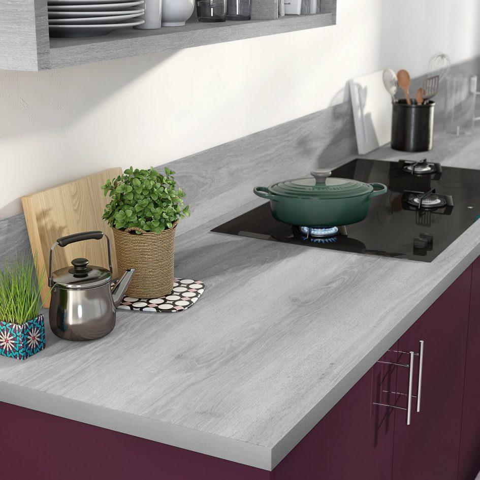 plan de travail effet beton gris clair lille. Black Bedroom Furniture Sets. Home Design Ideas