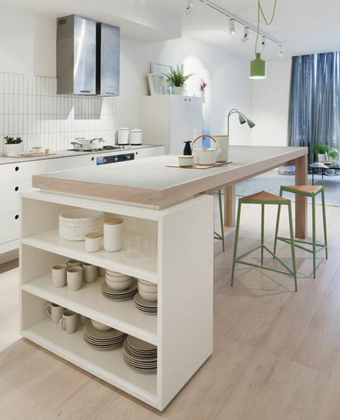 Plan De Travail Blanc Bois Lille Menage Fr Maison