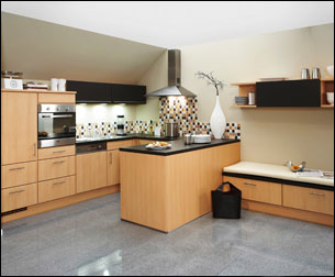 Plan de meuble de cuisine en bois