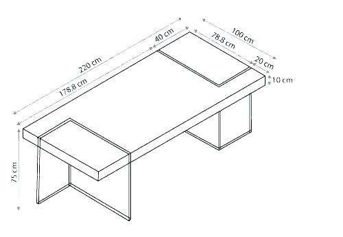 Plan de travail cuisine dimensions standard lille menage - Dimensions plan de travail cuisine ...