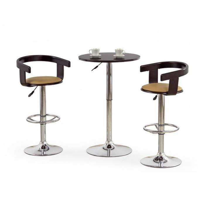 Table de cuisine haute avec tabouret lille maison - Table de cuisine haute avec tabouret ...