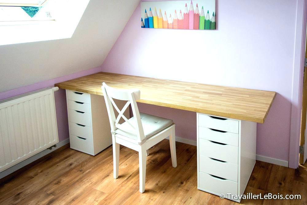 faire son bureau avec plan de travail lille maison. Black Bedroom Furniture Sets. Home Design Ideas