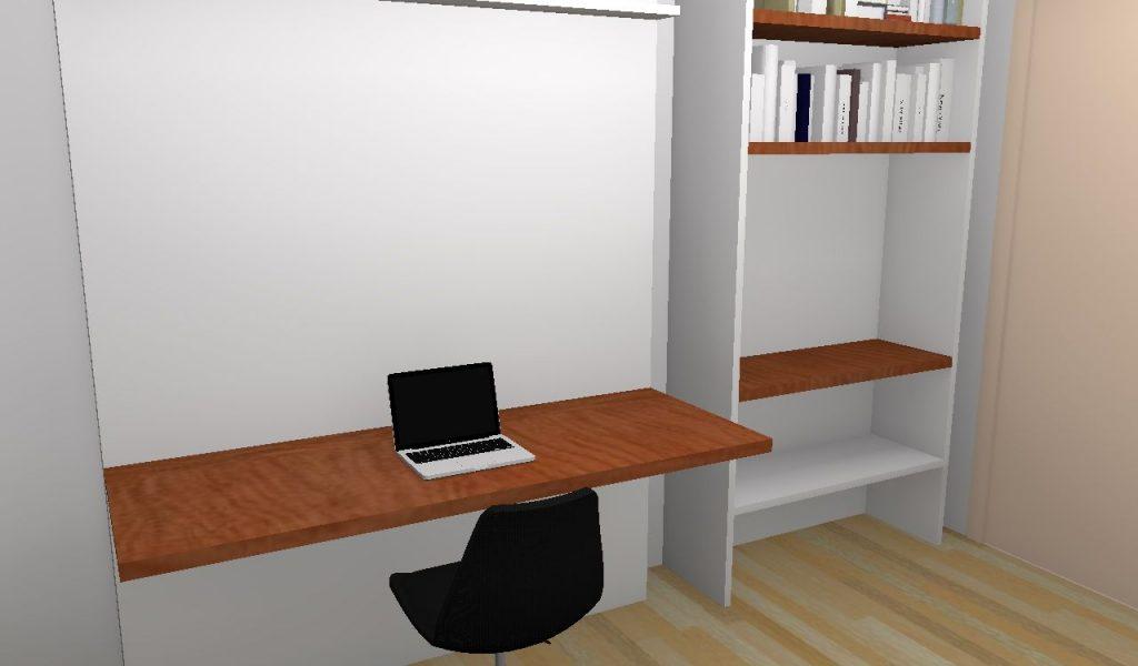Fabriquer bureau avec plan de travail lille maison - Fabriquer son bureau sur mesure ...