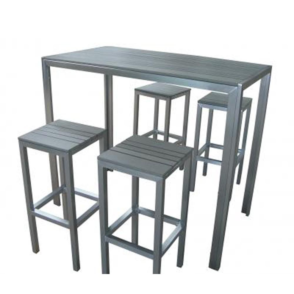 table cuisine haute grise lille maison. Black Bedroom Furniture Sets. Home Design Ideas
