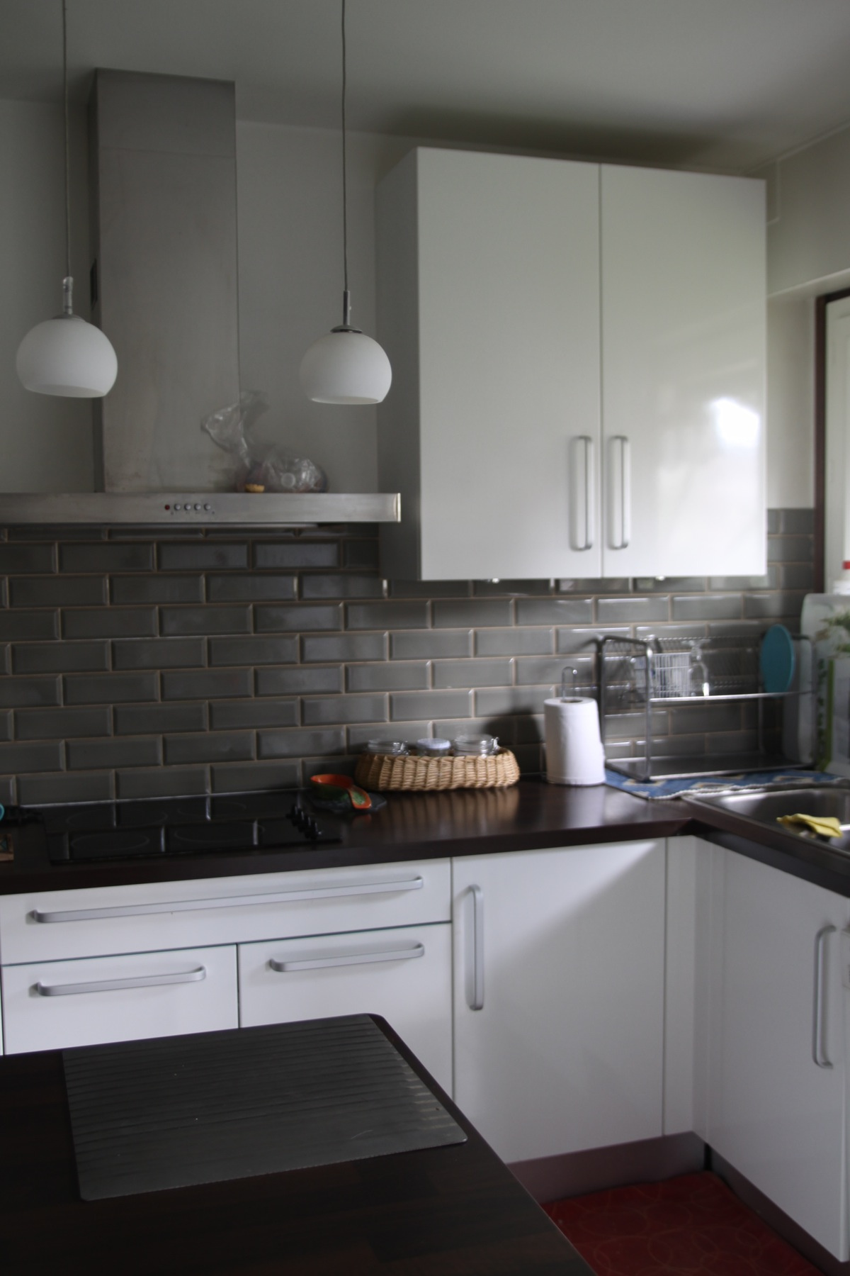 déco pour cuisine blanche et grise - lille-menage.fr maison