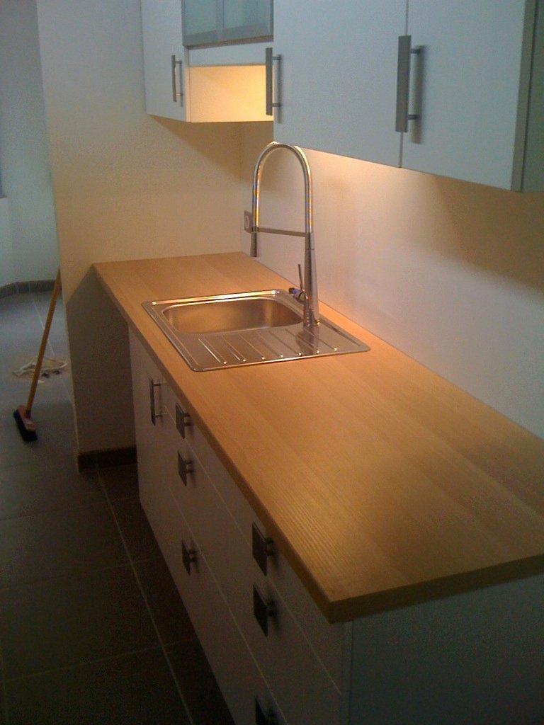 plan de travail avec evier ikea lille maison. Black Bedroom Furniture Sets. Home Design Ideas