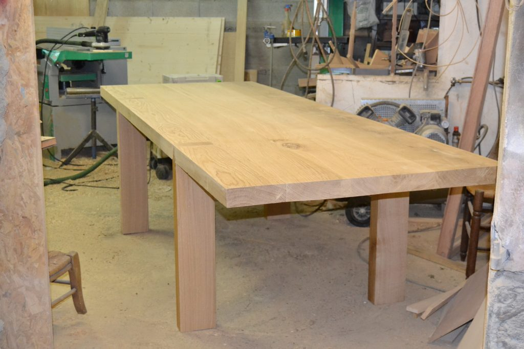 Plan pour fabriquer une table de cuisine en bois lille maison - Fabriquer table cuisine ...