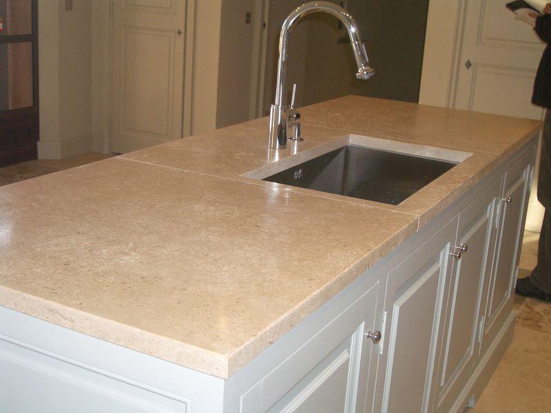 Plan de travail cuisine granit beige lille maison - Plan de travail cuisine en granit prix ...
