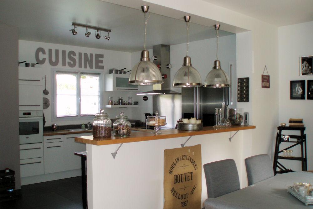 Modele cuisine bar