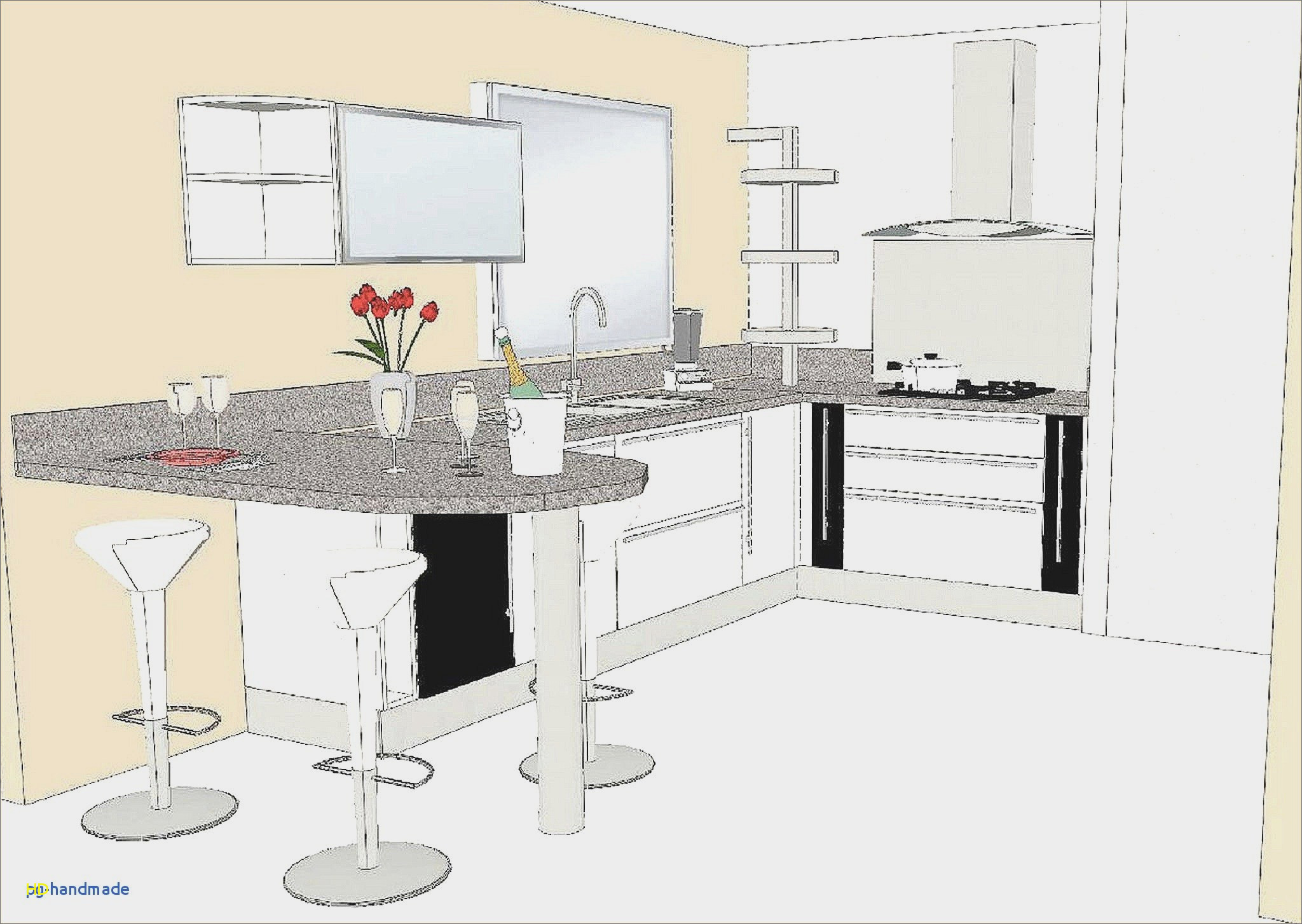 Plan cuisine am nag e gratuit lille maison - Plan amenagement cuisine 10m2 ...