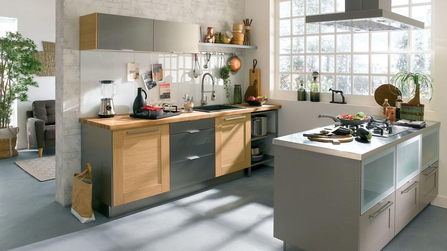 Modele cuisine ancienne bois - lille-menage.fr maison