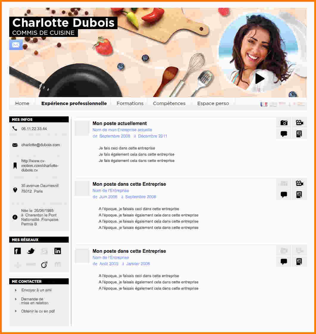 Exemple de cv commis de cuisine gratuit - lille-menage.fr ...