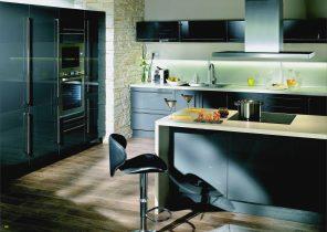 plan de travail noir anti trace. Black Bedroom Furniture Sets. Home Design Ideas