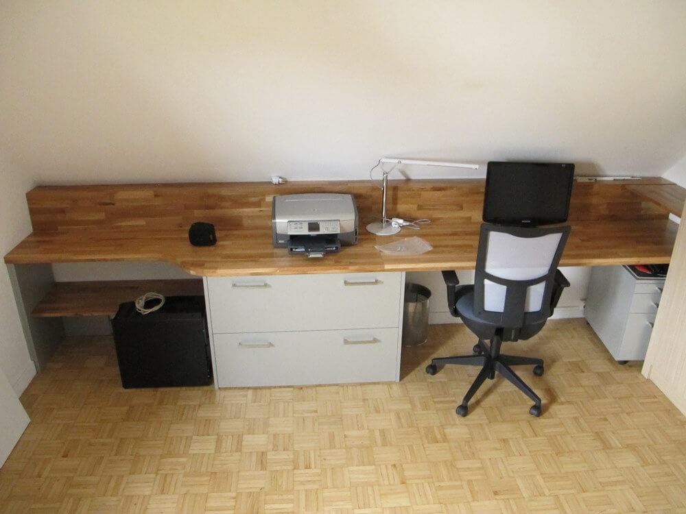 plan de travail pour bureau sur mesure lille. Black Bedroom Furniture Sets. Home Design Ideas