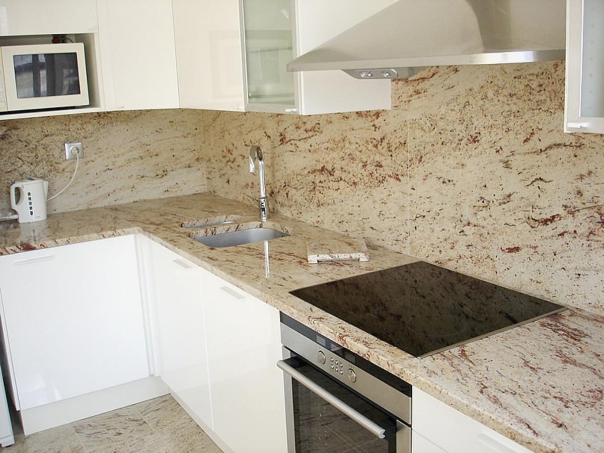 Modele plan de travail cuisine en granit lille maison - Modele de plan de travail cuisine ...