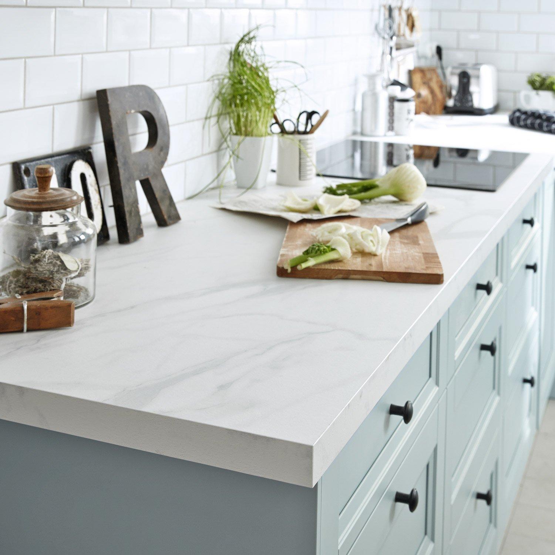 Plan De Travail Cuisine Blanc Leroy Merlin Lille Menage Fr Maison