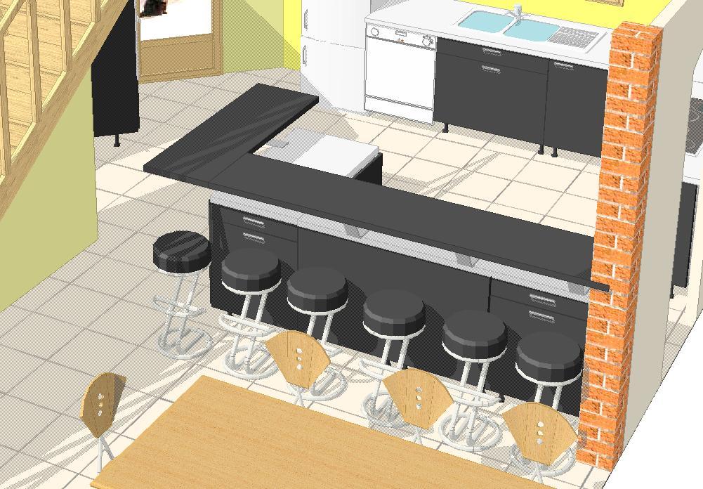 Plan cuisine bar